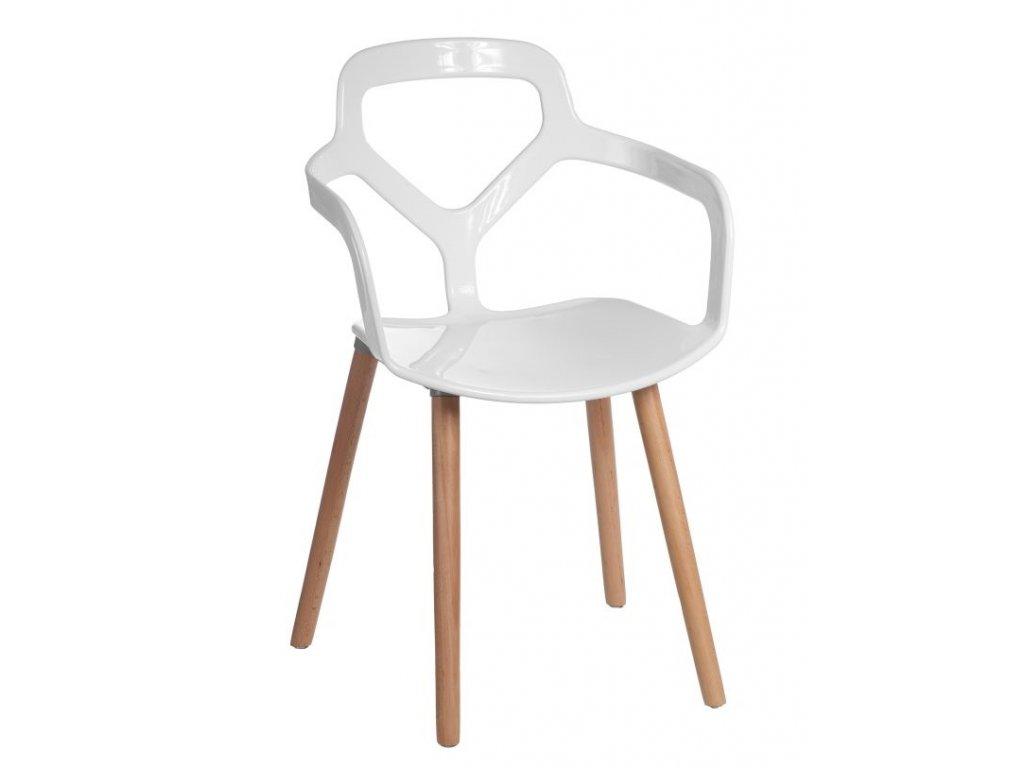 Stoličky Nox Wood biela