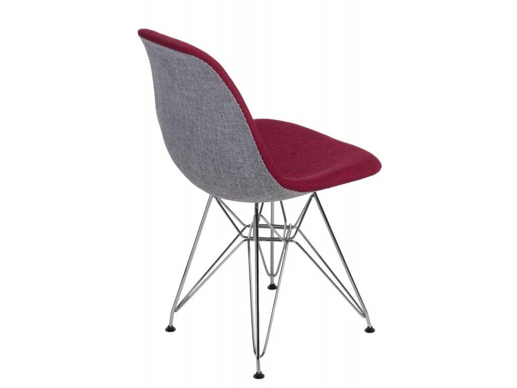 Stoličky P016 DSR Duo červená šedá