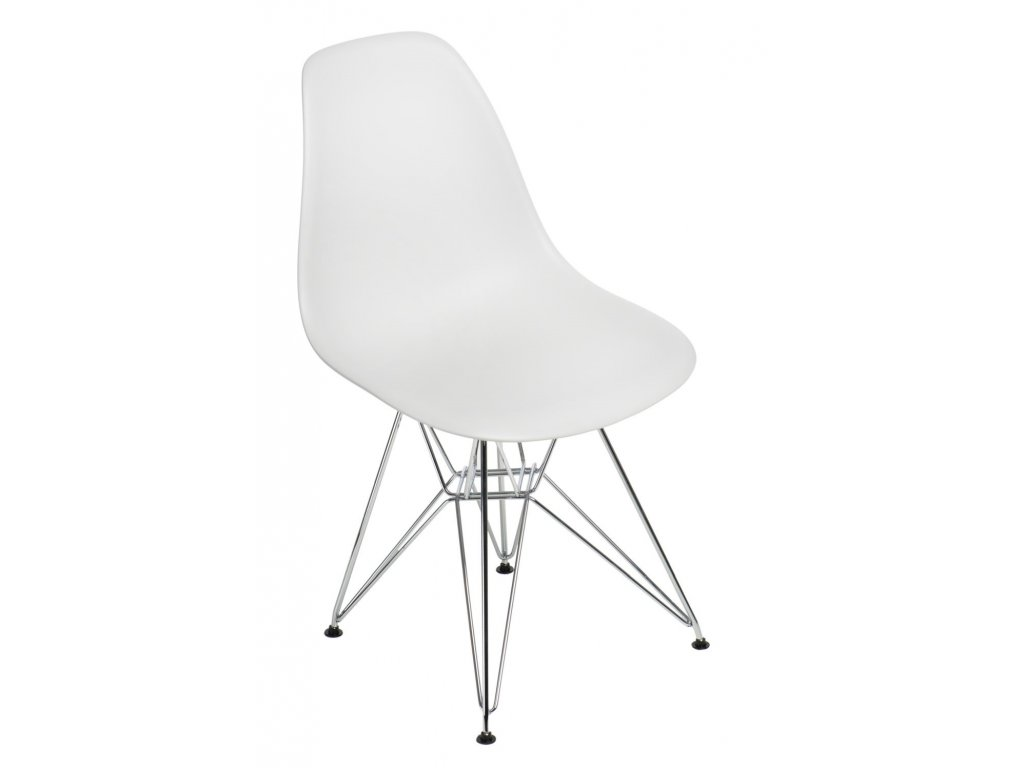 Stoličky P016 PP light Grey, chrómované nohy
