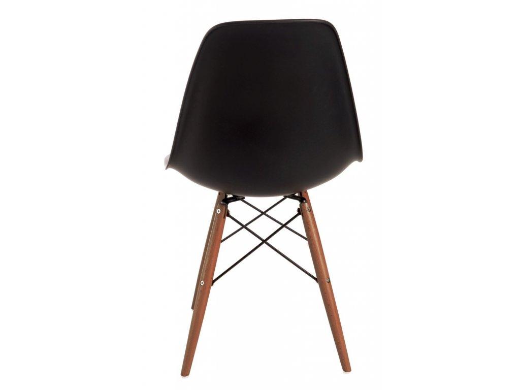 Stoličky P016V PP čierna / tmavá