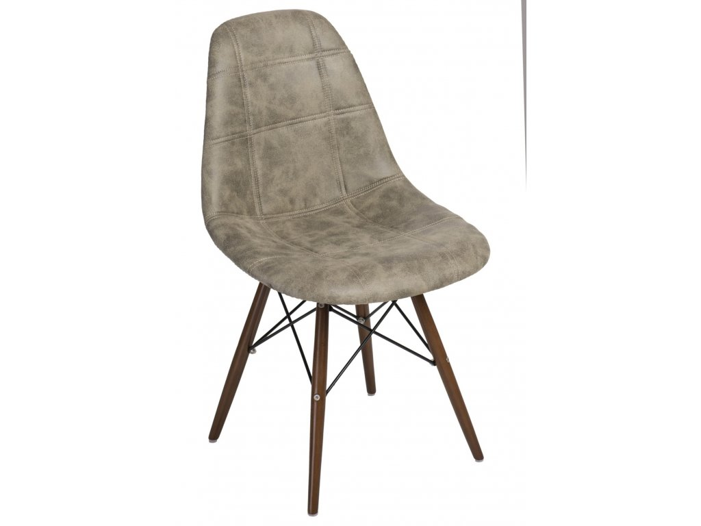 Stoličky P016V Pico olivová tmavá