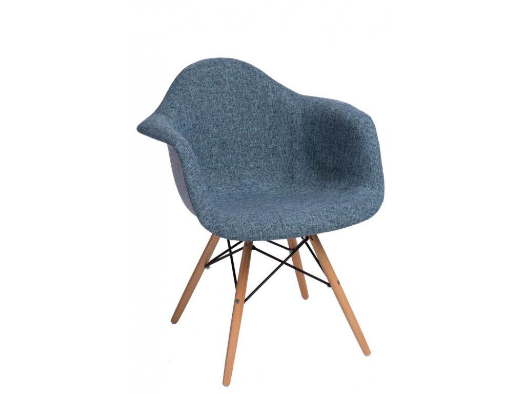 Stoličky P018 DAW Duo modrá sivá