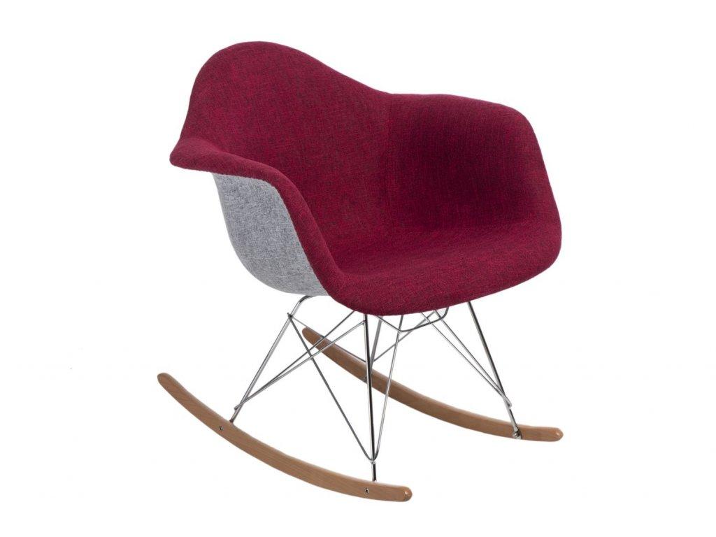 Stoličky P018 RAR Duo červená - šedá