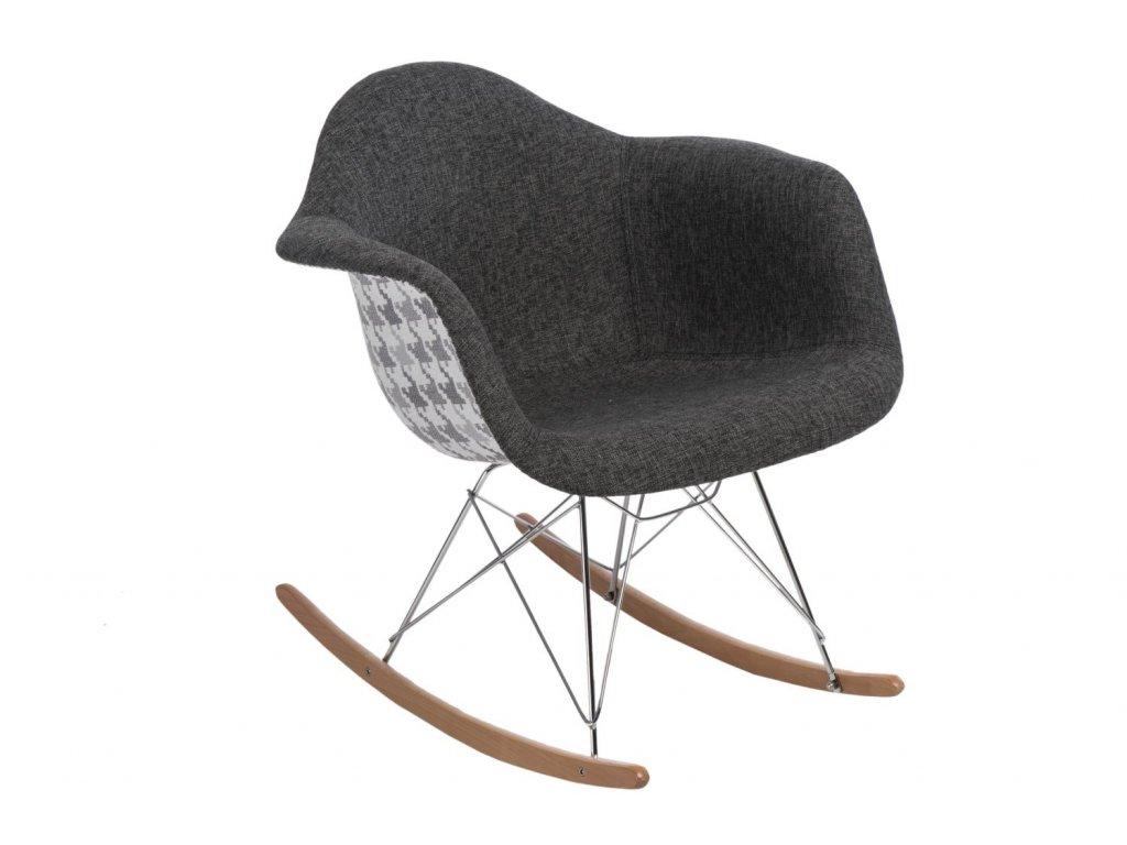 Stoličky P018 RAR Vzor sivá / pepito