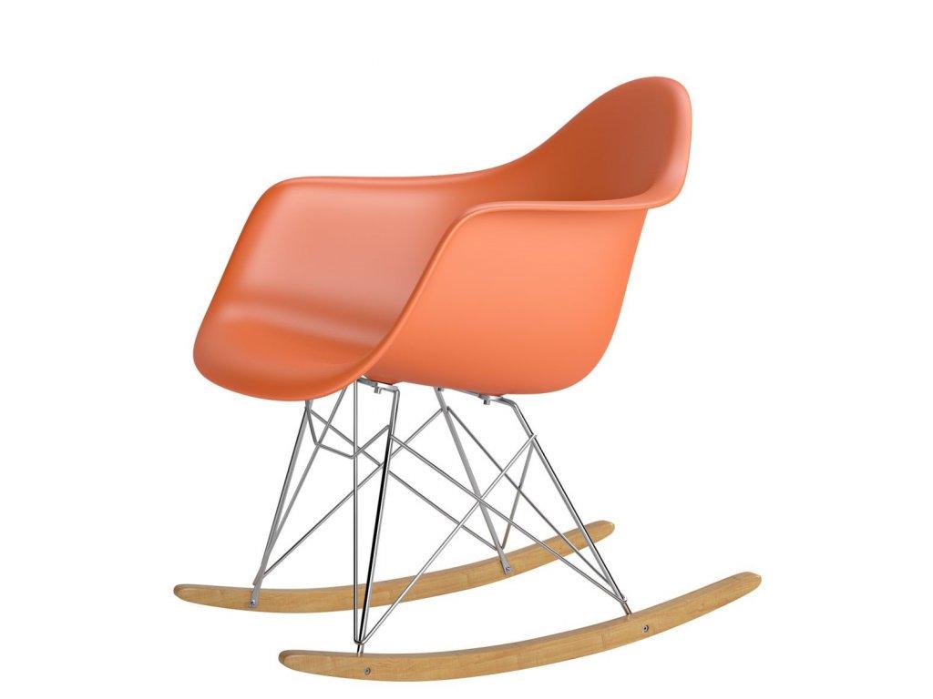 Stoličky P018 RR PP oranžová inšpirovaná RAR