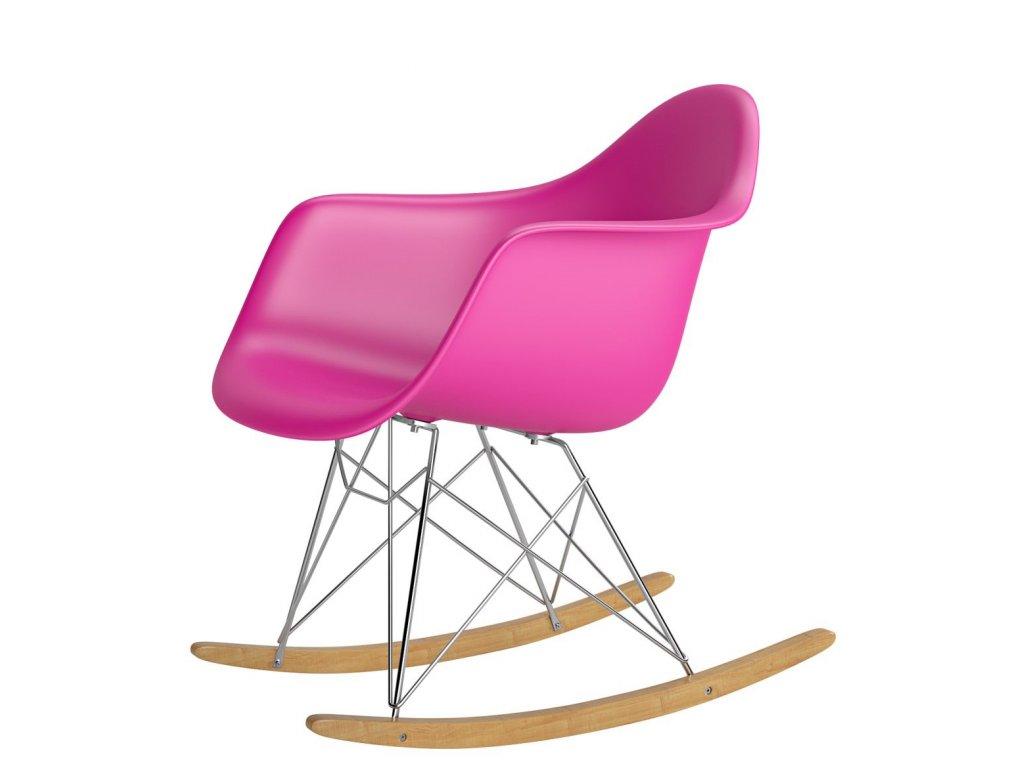 Stoličky P018 RR PP ružová inšpirovaná RAR
