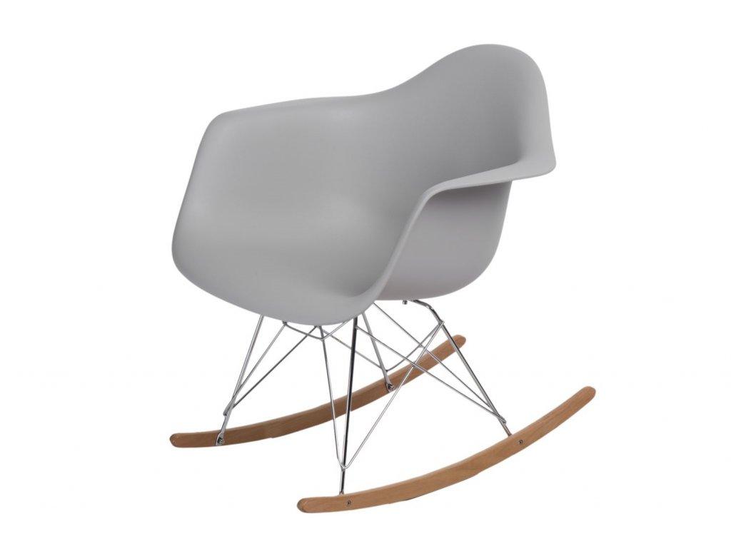 Stoličky P018 RR PP svetlá šedá inšpirovaná RAR