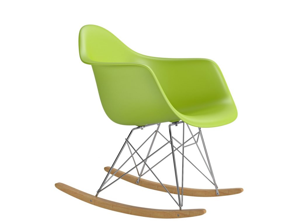 Stoličky P018 RR PP zelená inšpirovaná RAR