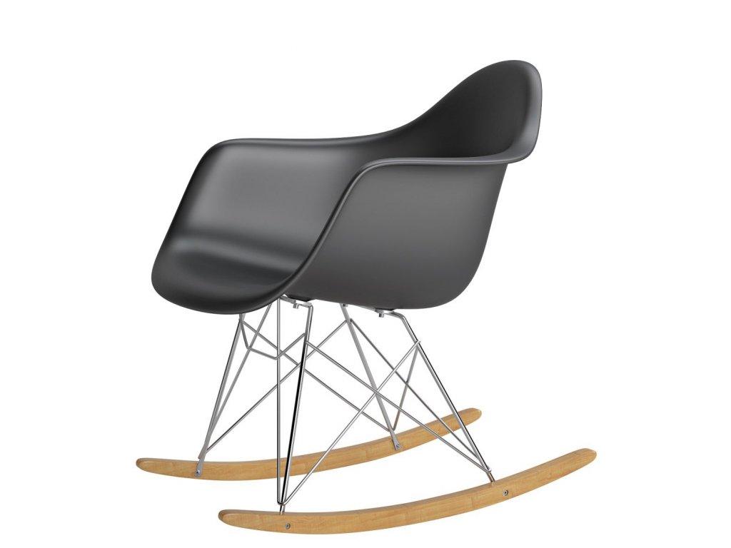 Stoličky P018 RR PP čierna inšpirovaná RAR