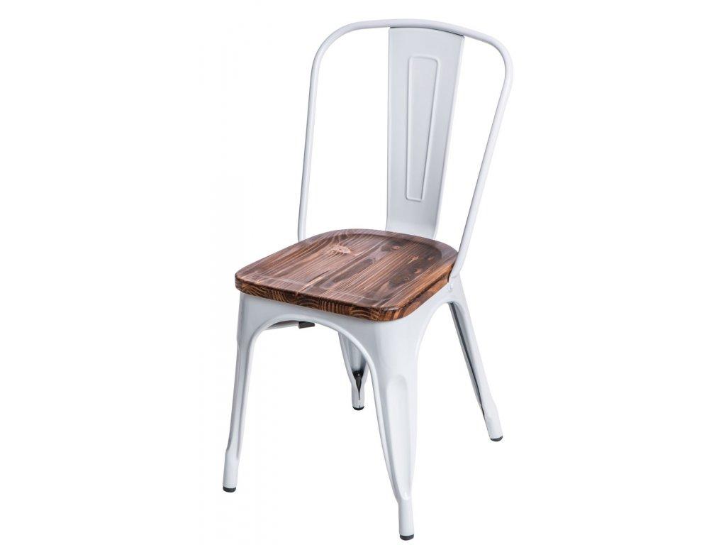 Stoličky Paris Wood biela sosna