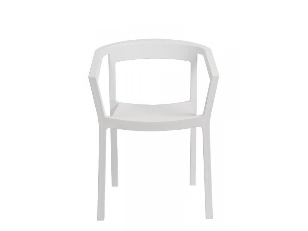 Stoličky Peach biela