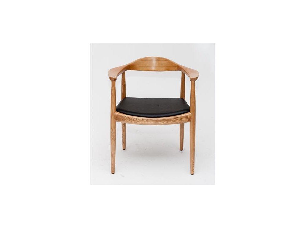 Stoličky President drevená natural