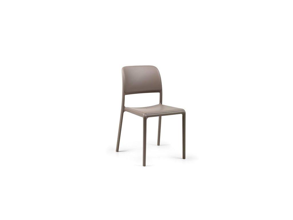 Stoličky Riva šedá