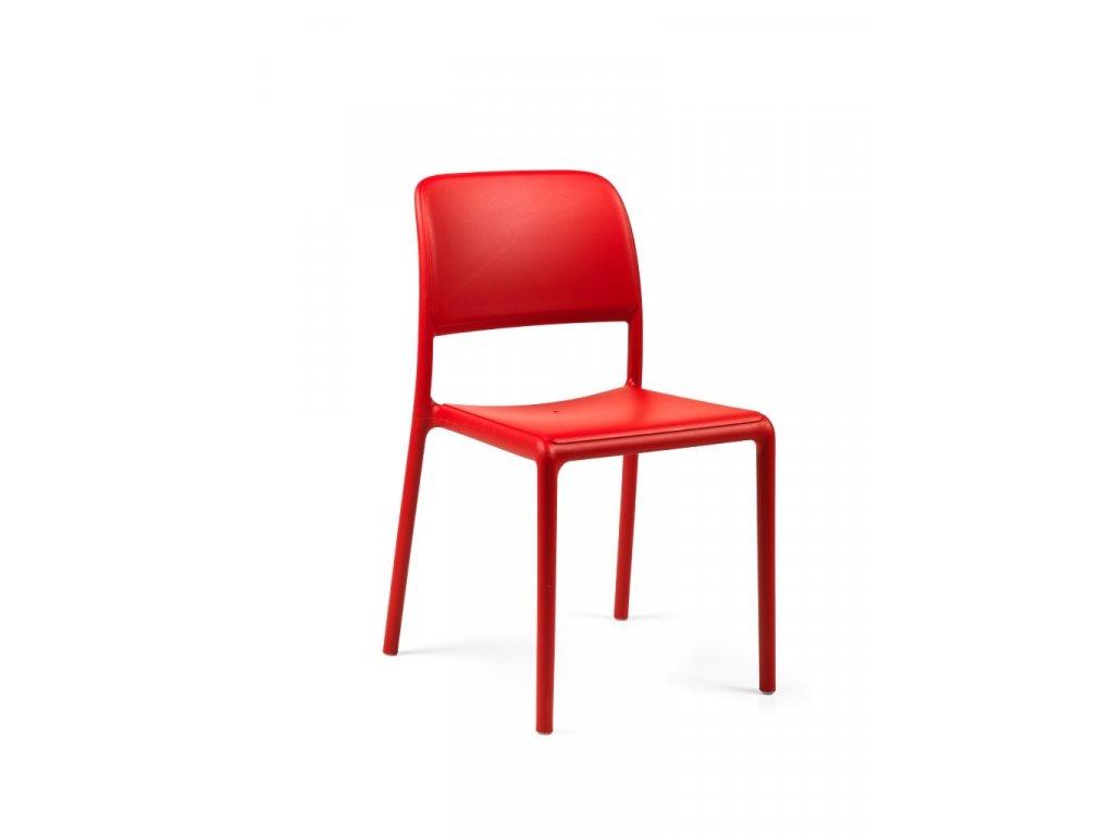 Stoličky Riva červená