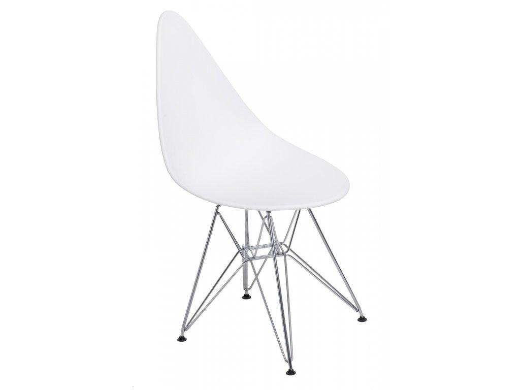 Stoličky Rush DSR biela