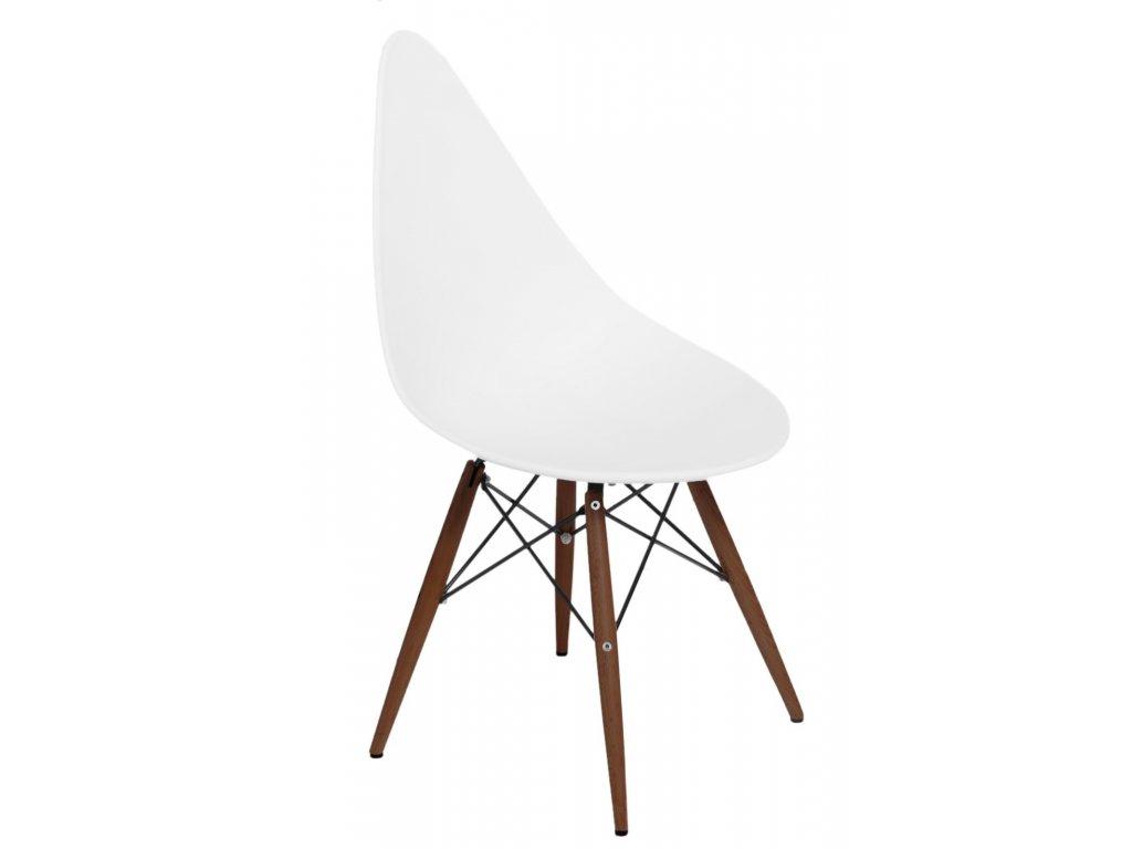 Stoličky Rush DSW biela / tmavá