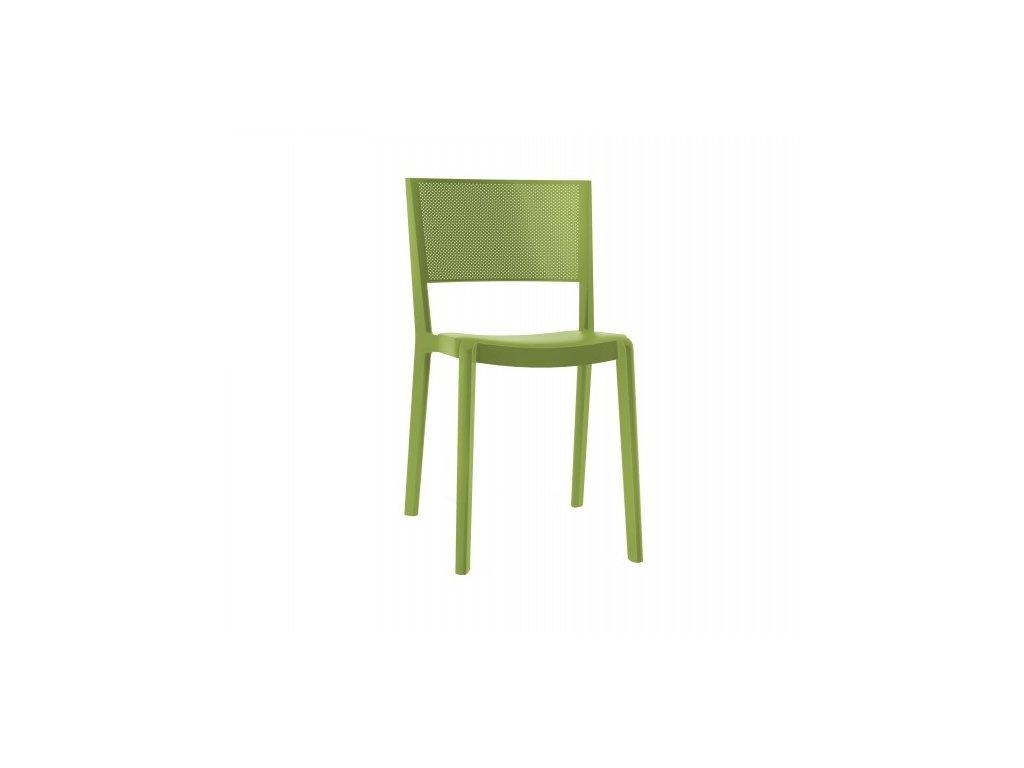 Stoličky Spot olivová