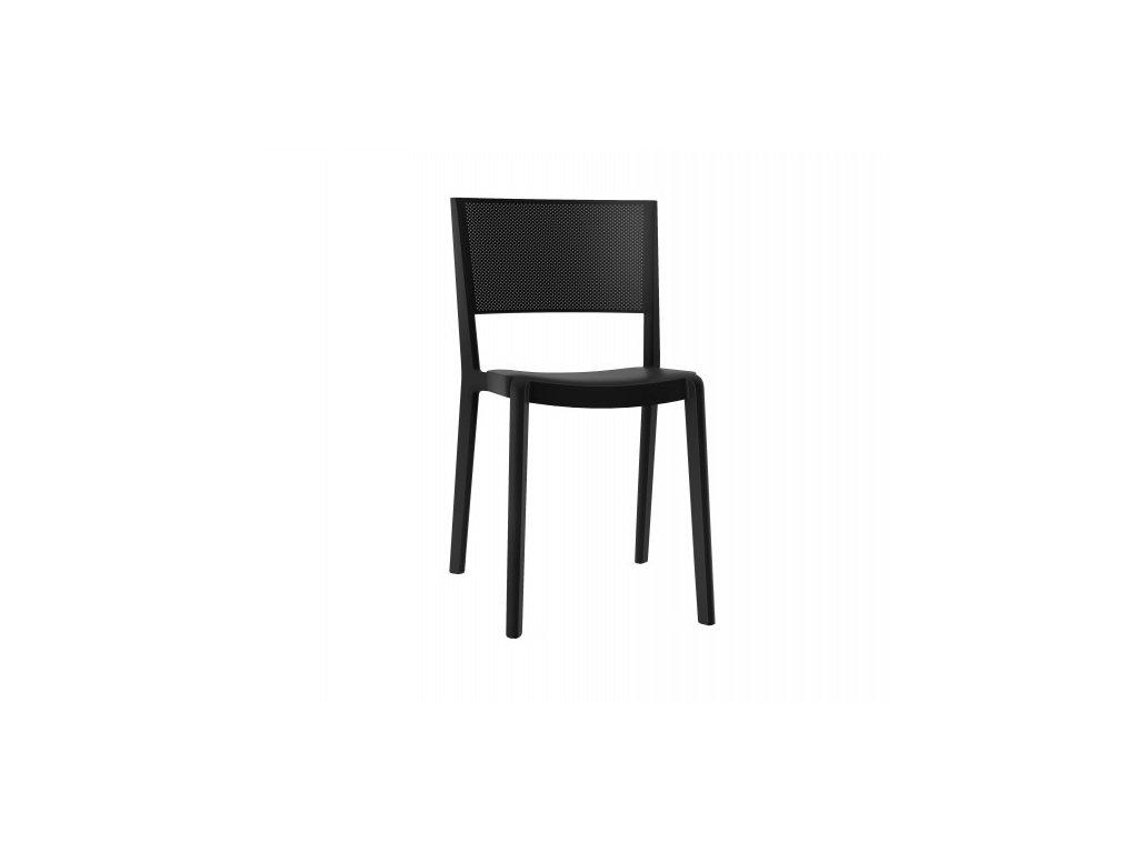 Stoličky Spot čierna