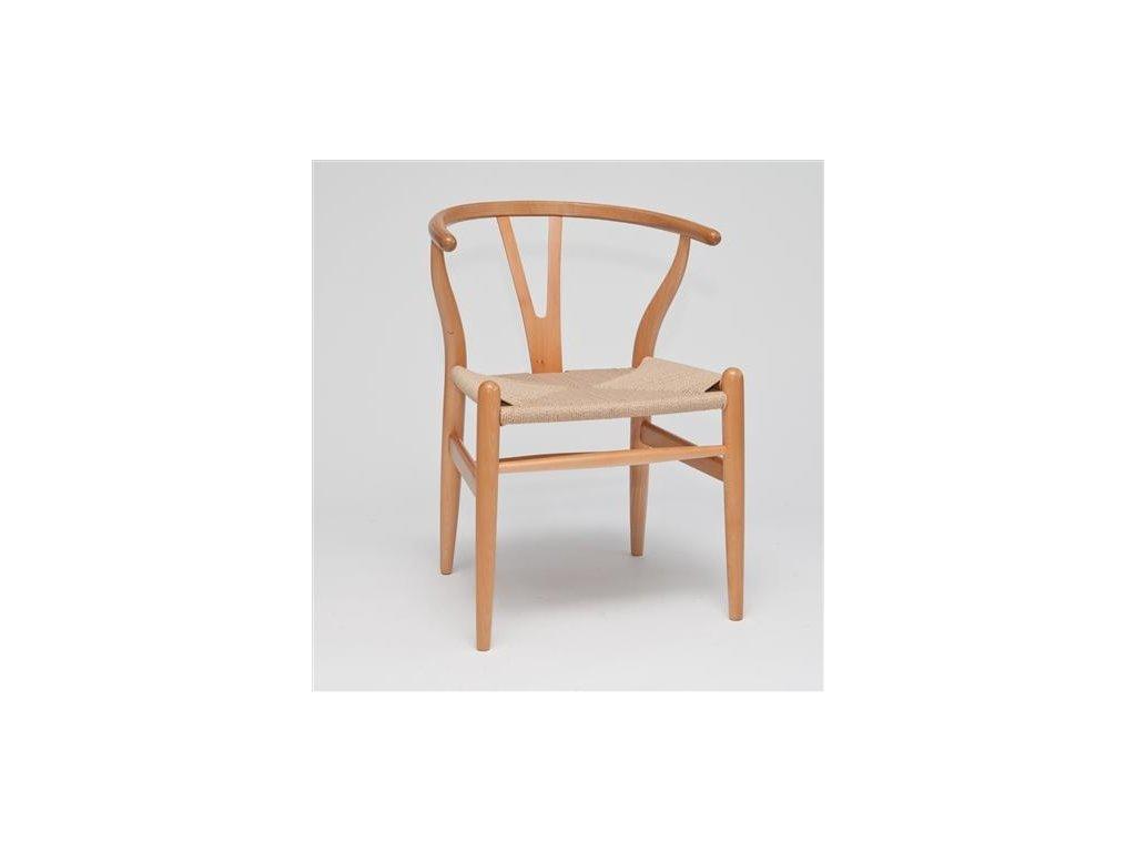 Stoličky Wicker natural