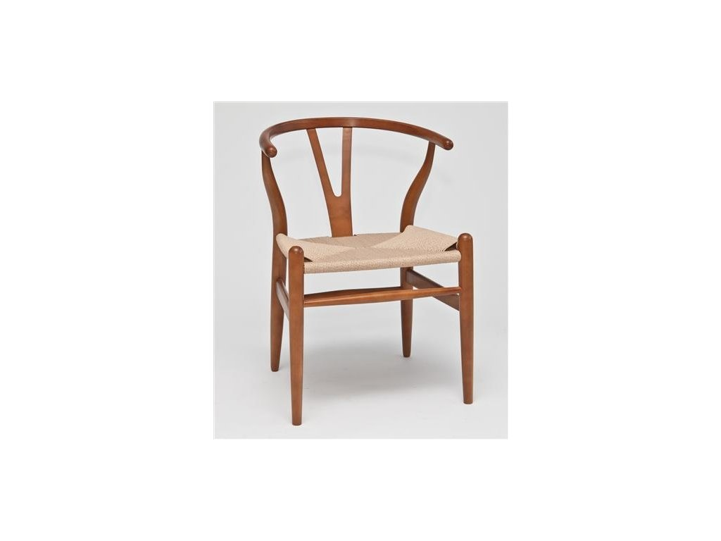 Stoličky Wicker svetlá hnedá