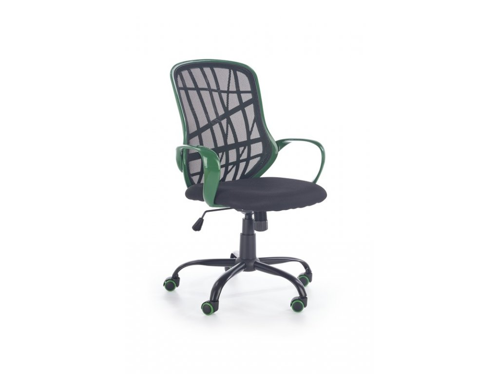 DESSERT kancelárske kreslo zelené - čierne