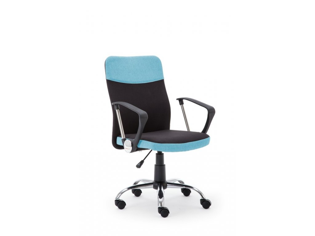 TOPIC kancelárske kreslo čierno - modré