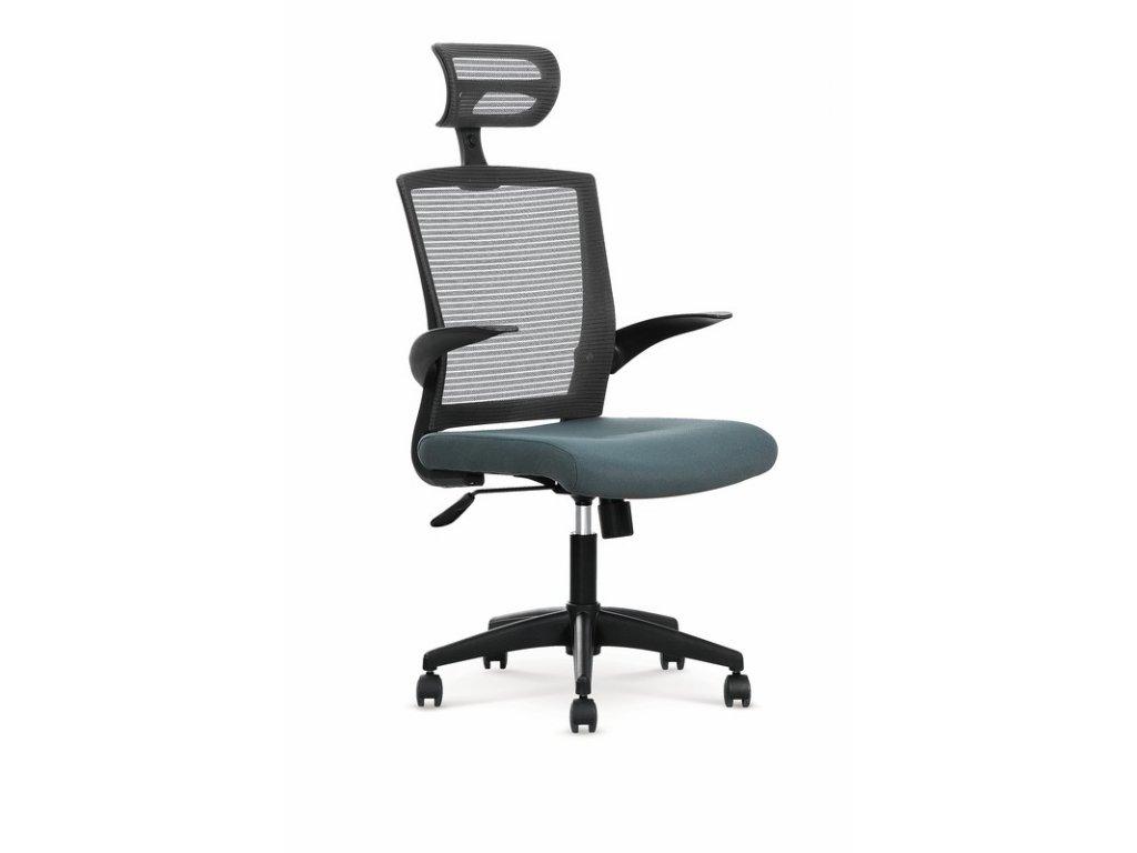 VALOR kancelárske kreslo šedej