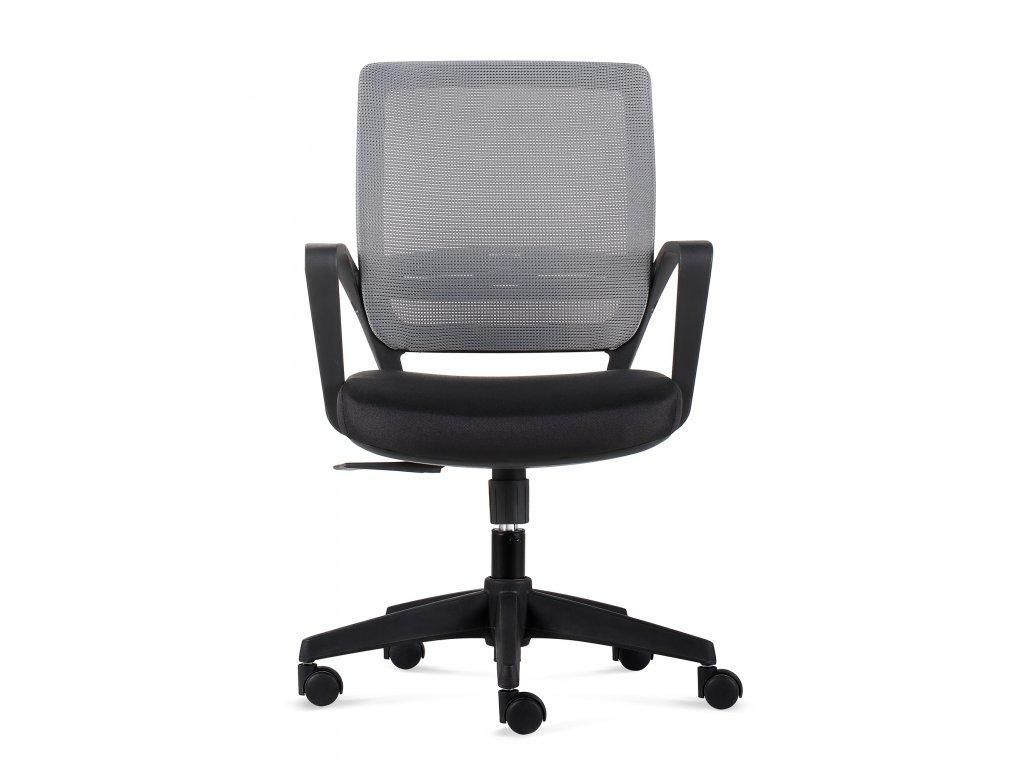Kancelárske kreslo Seca B šedej / čiernej