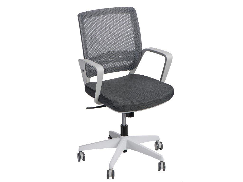 Kancelárske kreslo Seca G sivé / sivé