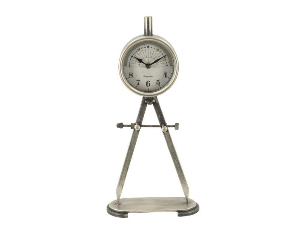 Stolové hodiny COMPASSO 21X9,5X43