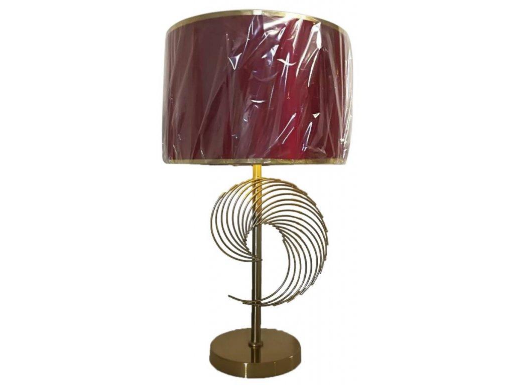 Stolná lampa GLAM SPIRAL