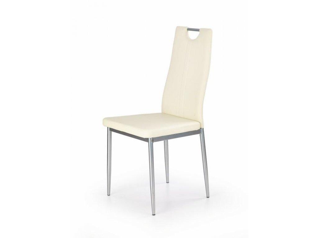 K202 stoličky krémová