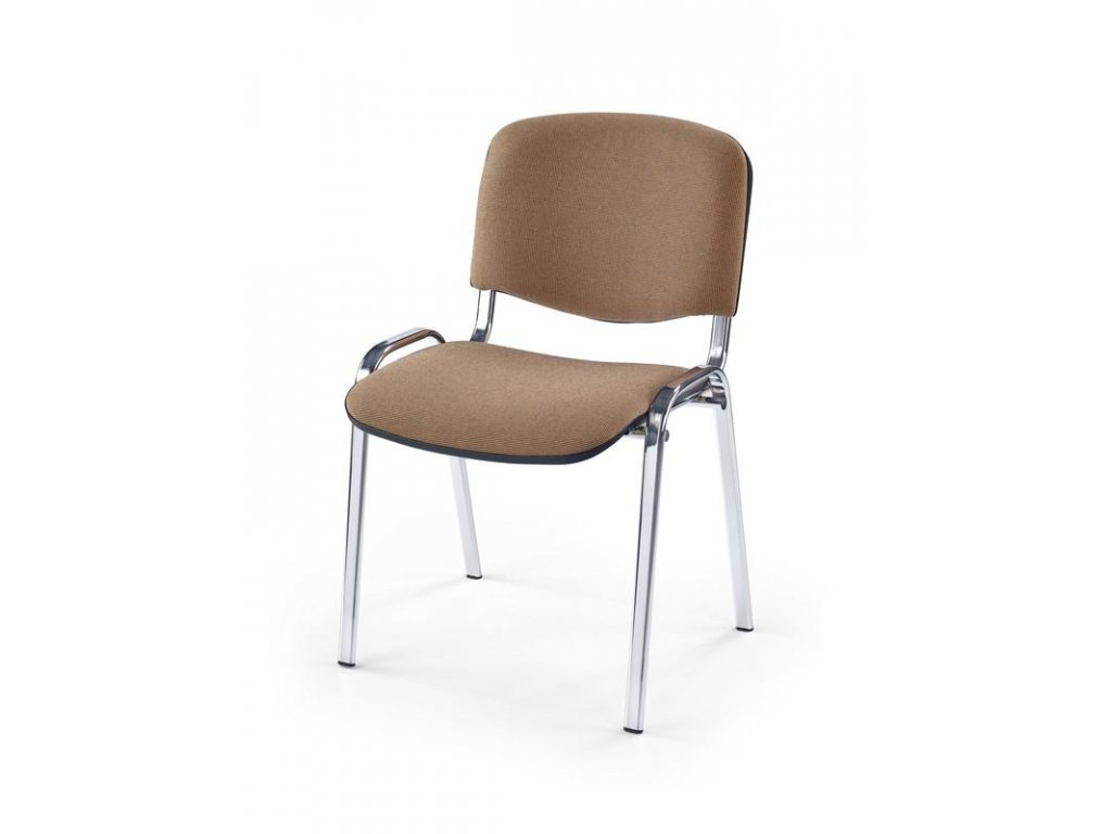 ISO stolička chróm / C4 béžová