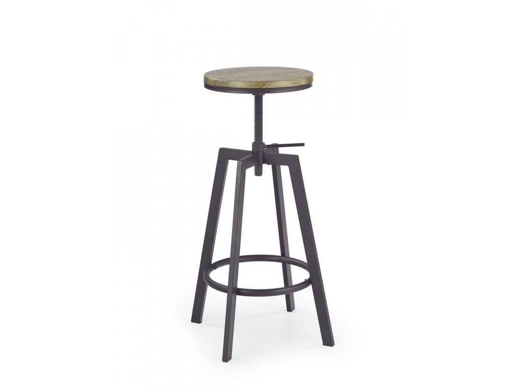 H64 barová stolička Old Vasion / coffee