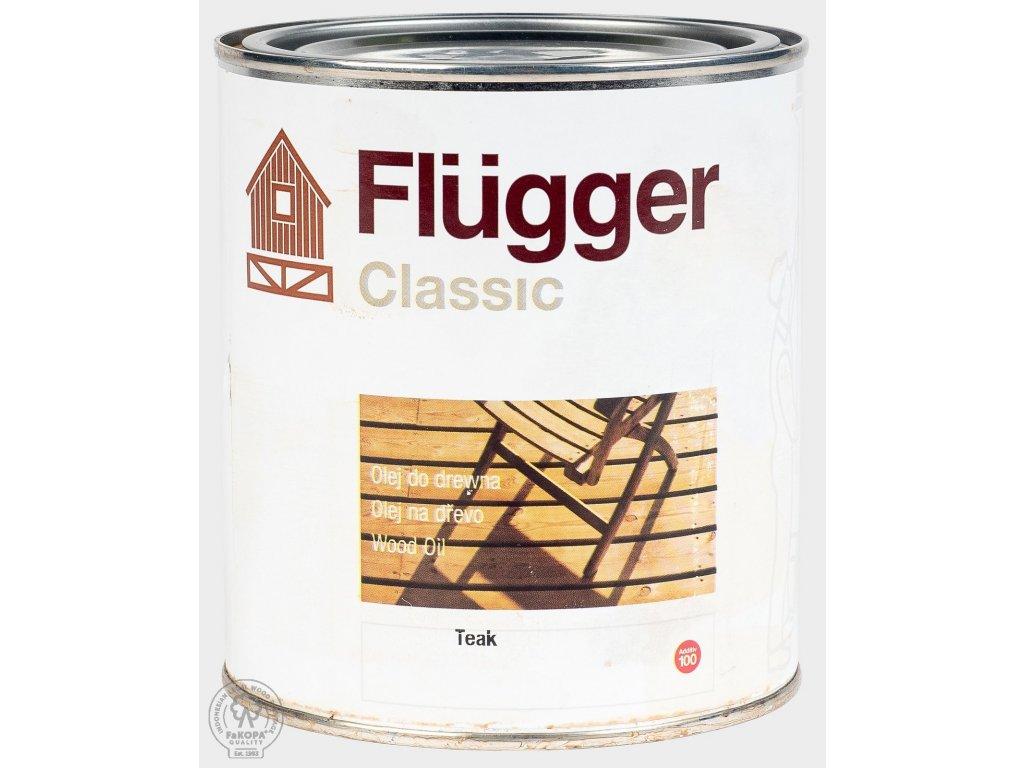 Ošetrujúci olej 0,75l Flügger