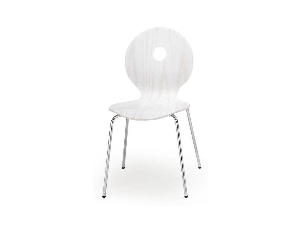 K233 stoličky biela