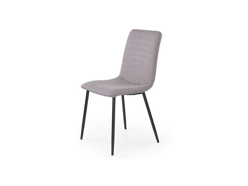 K251 stoličky šedá