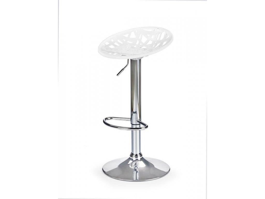 H56 barová stolička biela