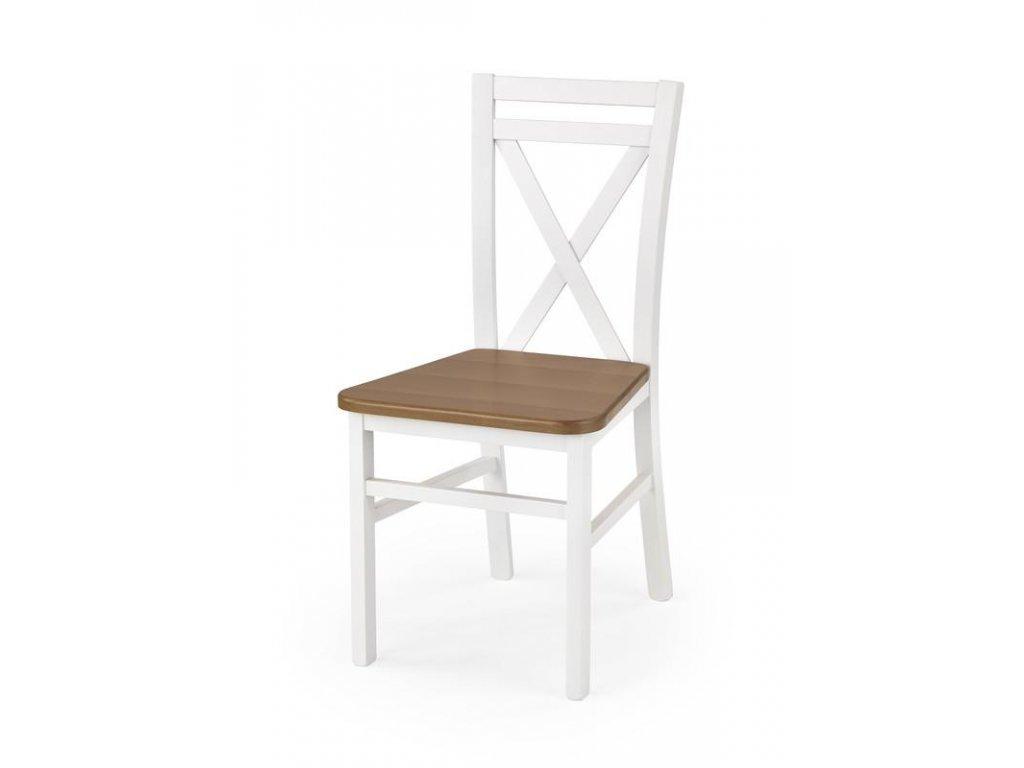 DARIUSZ 2 stolička biela / jelša