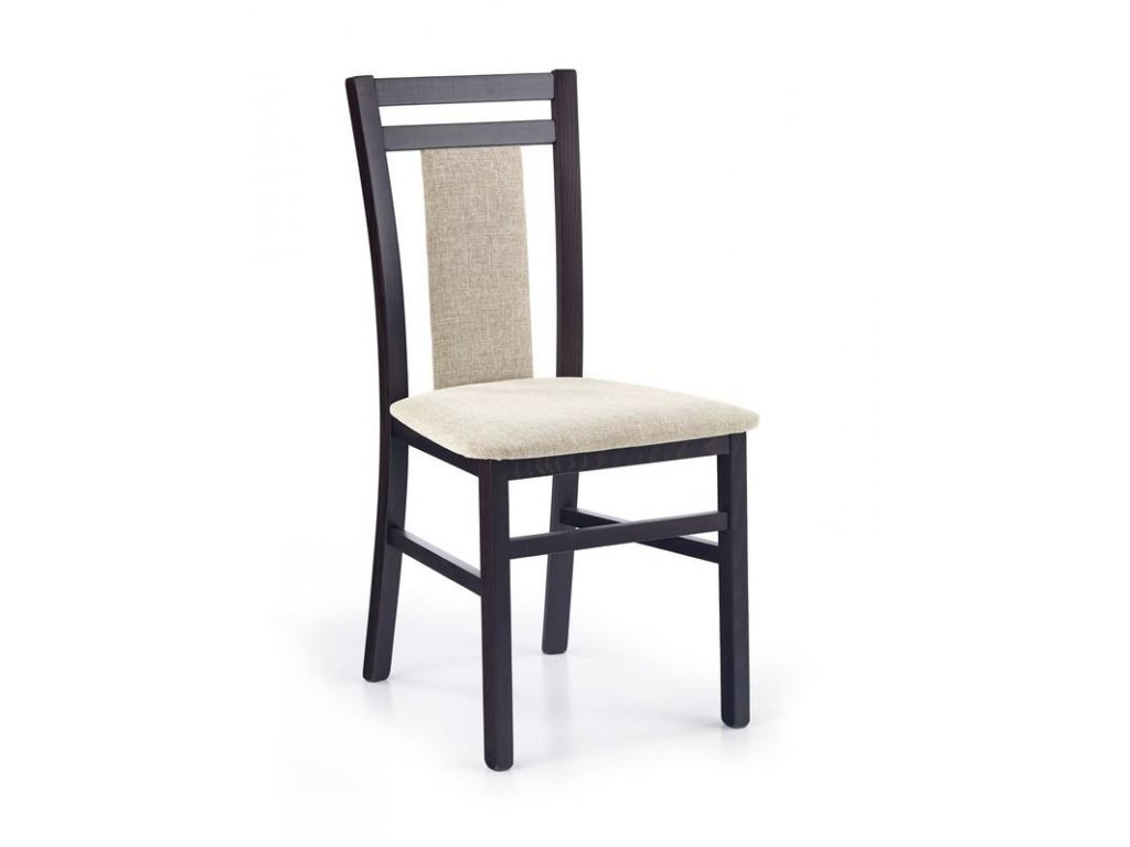 HUBERT8 stoličky wenge / Polstrovanie: Vila 2