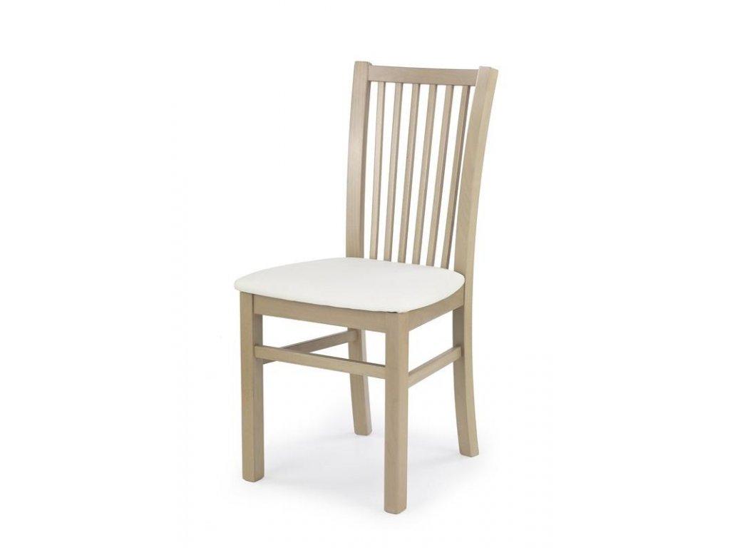 JACEK stoličky dub Sonoma / Polstrovanie: Madryt 121