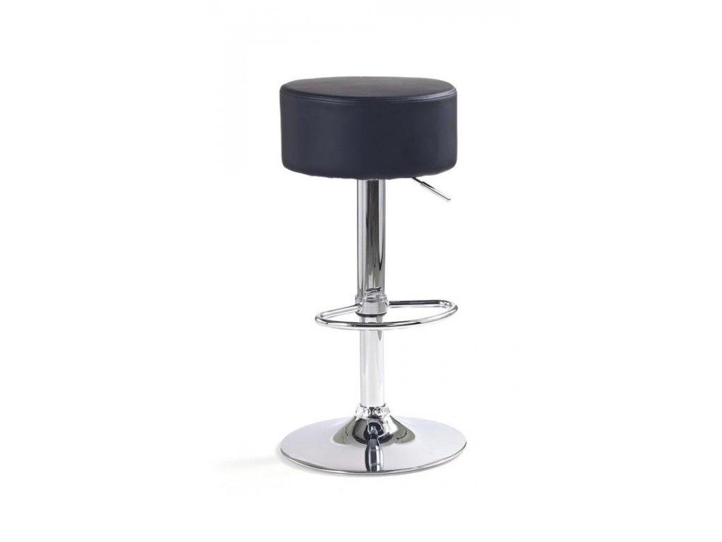 H23 barová stolička čierna