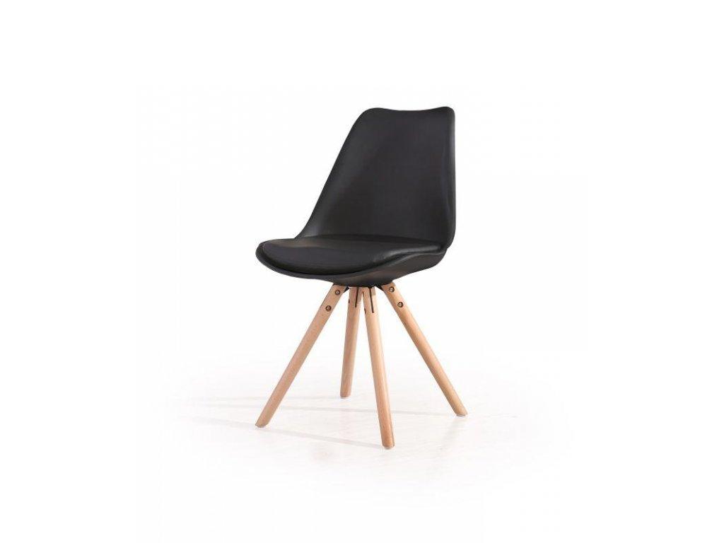 K201 stoličky čierna