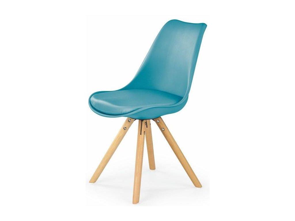 K201 stoličky tyrkysová