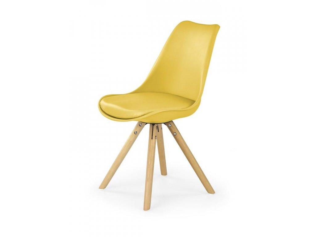 K201 stoličky žltá