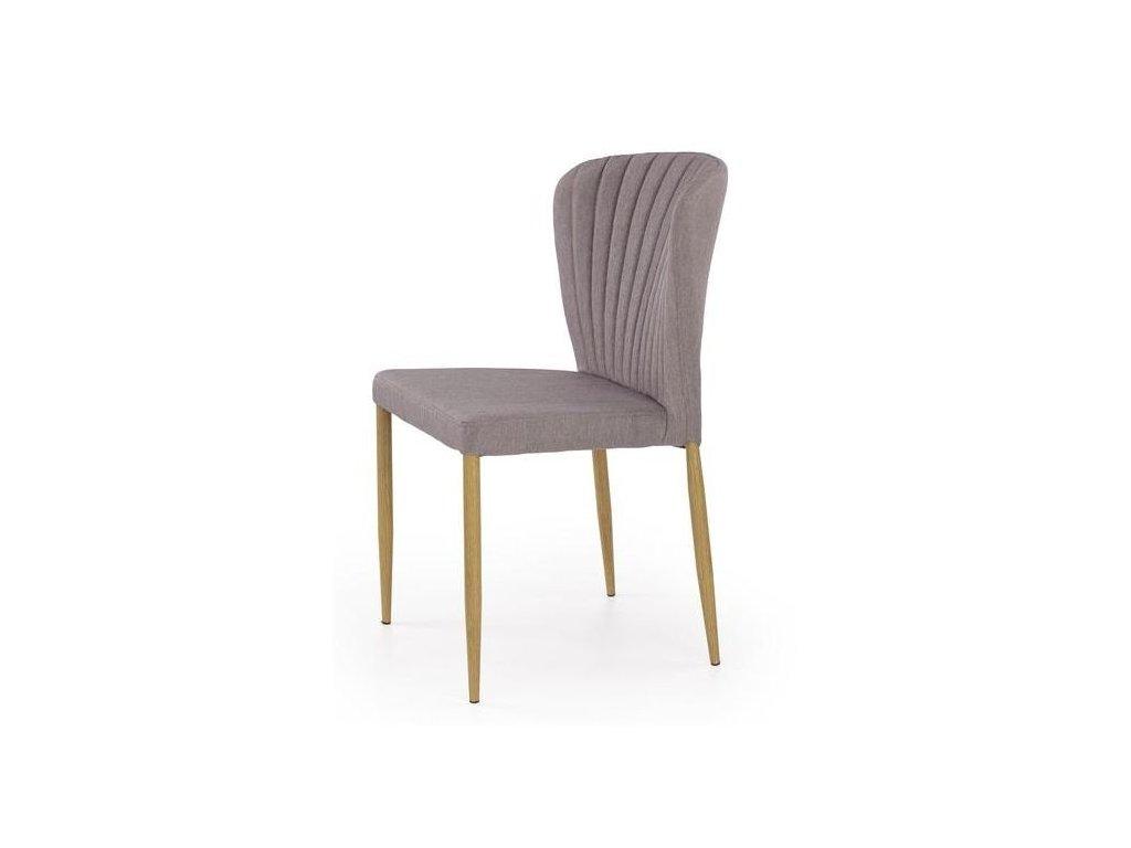 K236 stoličky šedá