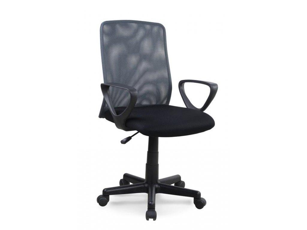 ALEX kreslo kancelárske čierno - šedé