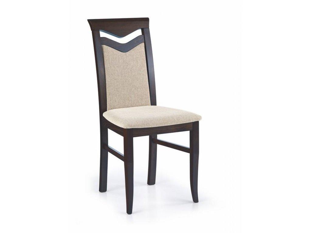 CITRON stoličky wenge / Polstrovanie: VILA 2