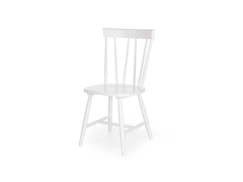 CHARLES stoličky biela
