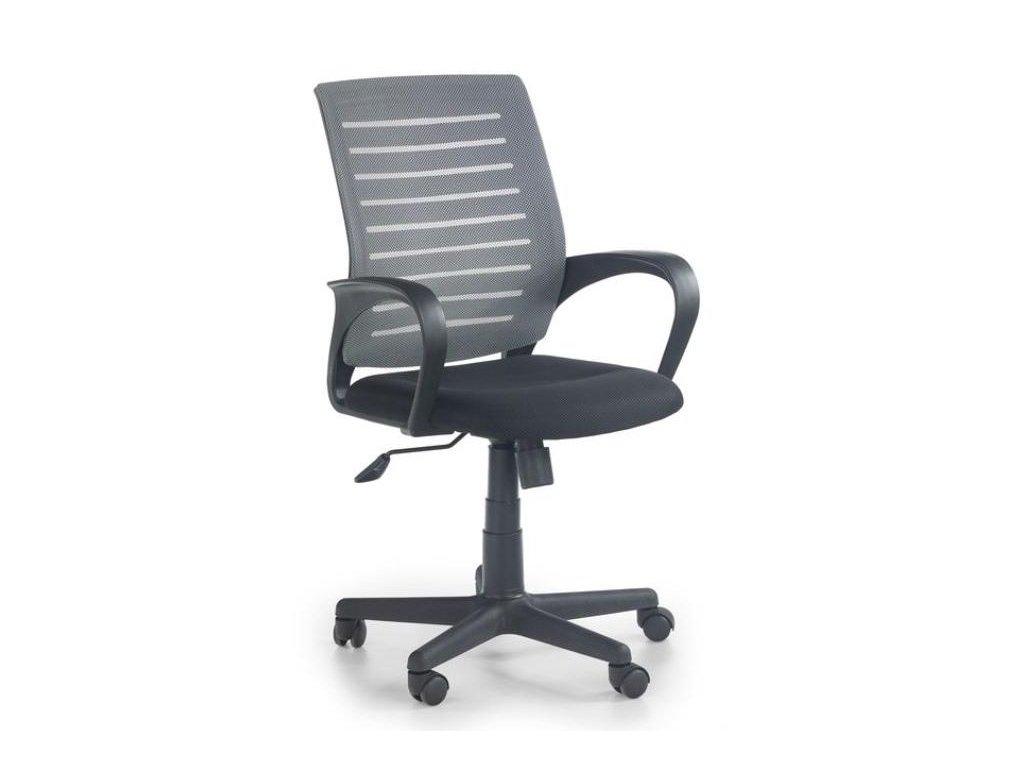 SANTANA kreslo kancelárske čierno - šedé